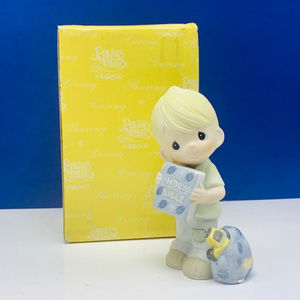 Precious Moments figurine NIB Hold on to Faith vtg